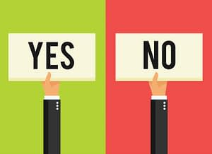 Getting to 'No': Why This is an Important Data Point